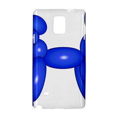 Poodle Dog Balloon Animal Clown Samsung Galaxy Note 4 Hardshell Case