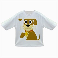 Dog Doggie Bone Dog Collar Cub Infant/toddler T Shirts