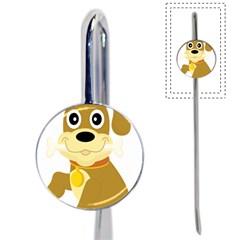 Dog Doggie Bone Dog Collar Cub Book Mark