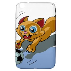Cat Ball Play Funny Game Playing Samsung Galaxy Tab 3 (8 ) T3100 Hardshell Case