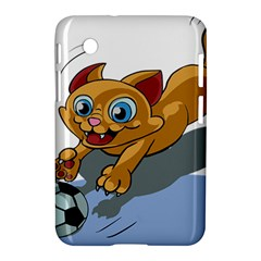 Cat Ball Play Funny Game Playing Samsung Galaxy Tab 2 (7 ) P3100 Hardshell Case
