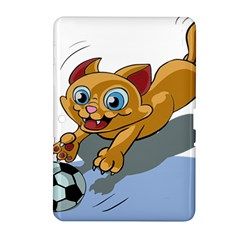 Cat Ball Play Funny Game Playing Samsung Galaxy Tab 2 (10 1 ) P5100 Hardshell Case