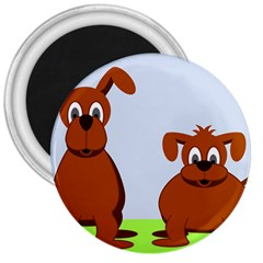 Animals Dogs Mutts Dog Pets 3  Magnets