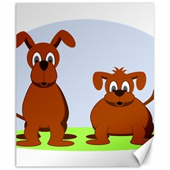Animals Dogs Mutts Dog Pets Canvas 8  X 10