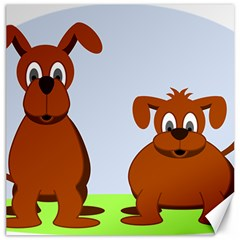 Animals Dogs Mutts Dog Pets Canvas 20  X 20