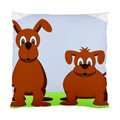 Animals Dogs Mutts Dog Pets Standard Cushion Case (two Sides)