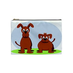 Animals Dogs Mutts Dog Pets Cosmetic Bag (medium)