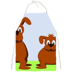 Animals Dogs Mutts Dog Pets Full Print Aprons