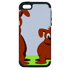 Animals Dogs Mutts Dog Pets Apple Iphone 5 Hardshell Case (pc+silicone)
