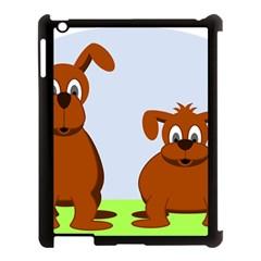 Animals Dogs Mutts Dog Pets Apple Ipad 3/4 Case (black)