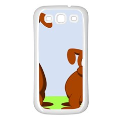 Animals Dogs Mutts Dog Pets Samsung Galaxy S3 Back Case (white)