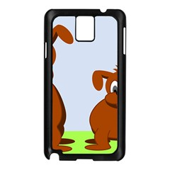 Animals Dogs Mutts Dog Pets Samsung Galaxy Note 3 N9005 Case (black)