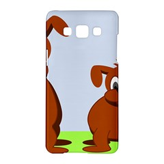 Animals Dogs Mutts Dog Pets Samsung Galaxy A5 Hardshell Case