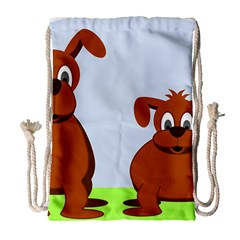Animals Dogs Mutts Dog Pets Drawstring Bag (large)