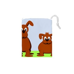 Animals Dogs Mutts Dog Pets Drawstring Pouches (xs)