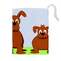 Animals Dogs Mutts Dog Pets Drawstring Pouches (extra Large)