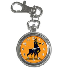 Illustration Silhouette Art Mammals Key Chain Watches