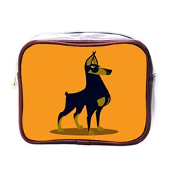Illustration Silhouette Art Mammals Mini Toiletries Bags
