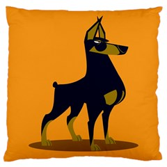 Illustration Silhouette Art Mammals Large Cushion Case (one Side)