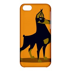 Illustration Silhouette Art Mammals Apple Iphone 5c Hardshell Case