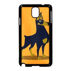 Illustration Silhouette Art Mammals Samsung Galaxy Note 3 Neo Hardshell Case (black)