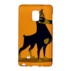 Illustration Silhouette Art Mammals Galaxy Note Edge