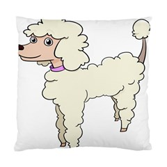 Poodle Dog Breed Cute Adorable Standard Cushion Case (two Sides)