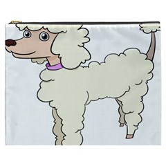 Poodle Dog Breed Cute Adorable Cosmetic Bag (xxxl)