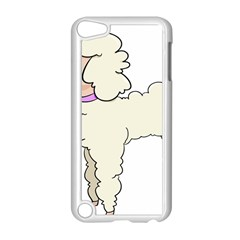 Poodle Dog Breed Cute Adorable Apple Ipod Touch 5 Case (white)