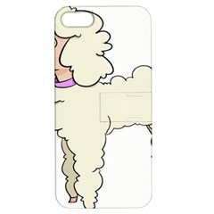 Poodle Dog Breed Cute Adorable Apple Iphone 5 Hardshell Case With Stand