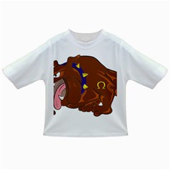 Bulldog Cartoon Angry Dog Infant/toddler T Shirts