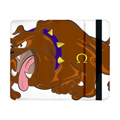 Bulldog Cartoon Angry Dog Samsung Galaxy Tab Pro 8 4  Flip Case