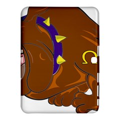 Bulldog Cartoon Angry Dog Samsung Galaxy Tab 4 (10 1 ) Hardshell Case