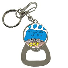 Cat Print Paw Pet Animal Claws Bottle Opener Key Chains