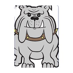 Gray Happy Dog Bulldog Pet Collar Apple Ipad Pro 10 5   Hardshell Case by Nexatart