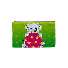 Dalmatians Dog Puppy Animal Pet Cosmetic Bag (small)
