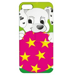 Dalmatians Dog Puppy Animal Pet Apple Iphone 5 Hardshell Case With Stand