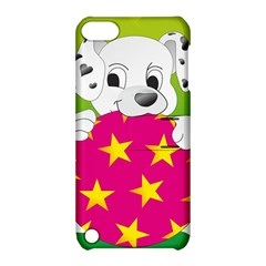 Dalmatians Dog Puppy Animal Pet Apple Ipod Touch 5 Hardshell Case With Stand