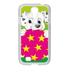 Dalmatians Dog Puppy Animal Pet Samsung Galaxy S4 I9500/ I9505 Case (white)