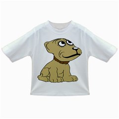 Dog Cute Sitting Puppy Pet Infant/toddler T Shirts