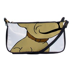 Dog Cute Sitting Puppy Pet Shoulder Clutch Bags by Nexatart