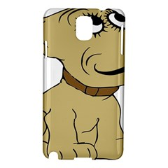 Dog Cute Sitting Puppy Pet Samsung Galaxy Note 3 N9005 Hardshell Case