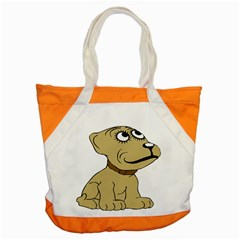 Dog Cute Sitting Puppy Pet Accent Tote Bag