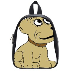 Dog Cute Sitting Puppy Pet School Bag (small)