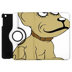 Dog Cute Sitting Puppy Pet Apple Ipad Mini Flip 360 Case