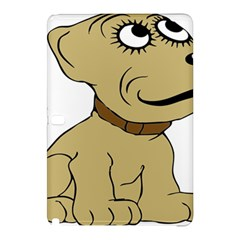 Dog Cute Sitting Puppy Pet Samsung Galaxy Tab Pro 10 1 Hardshell Case