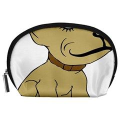 Dog Cute Sitting Puppy Pet Accessory Pouches (large)