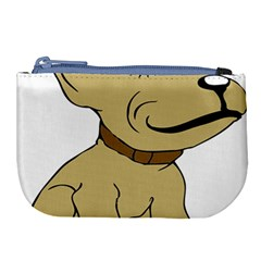 Dog Cute Sitting Puppy Pet Large Coin Purse