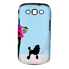 Woman Girl Lady Female Young Samsung Galaxy S Iii Classic Hardshell Case (pc+silicone)