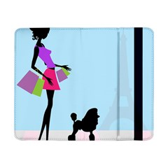 Woman Girl Lady Female Young Samsung Galaxy Tab Pro 8 4  Flip Case